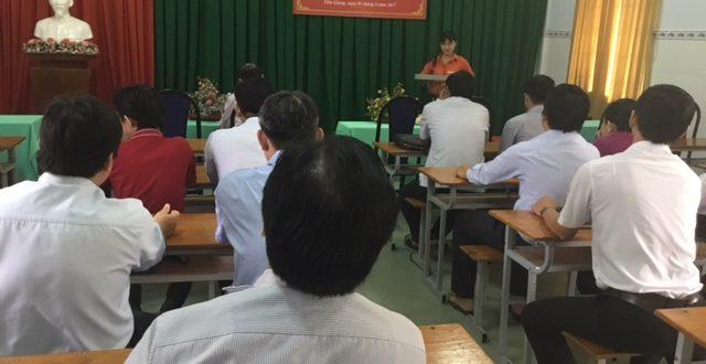 Khai giảng lớp bồi dưỡng quản lý nhà nước ngạch chuyên viên tại Mỹ Tho, Tiền Giang